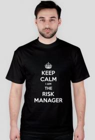 KEEP CALM The Risk Manager (czarna)