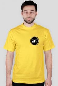 Koszulka WSK czarny nadruk na plecach