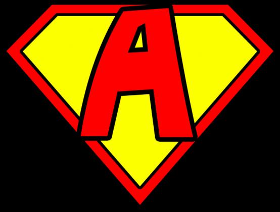 Superman Litera A Damska Koszulki W Literki