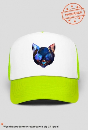 czapka kot kosmos