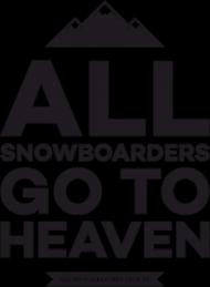 Koszulka męska - ALL SNOWBOARDERS