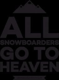 Koszulka damska - ALL SNOWBOARDERS (6 kolorów!)