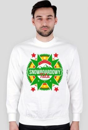 Bluza męska - NAJLEPSZY SNOWBOARDOWY TATA EVER (różne kolory!)