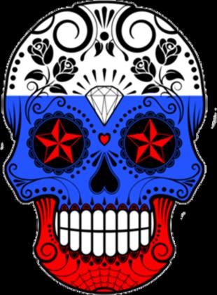 Russia Skull