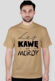 Kawowa Koszulka