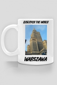 Discover the World - Warszawa Kubek do kawy