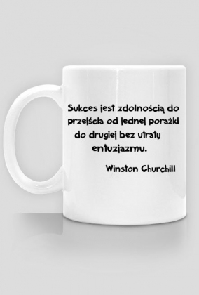 Kubek do kawy - Winston Churchill