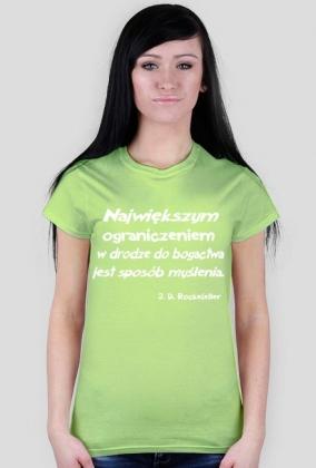 Koszulka - J. D. Rockefeller damska
