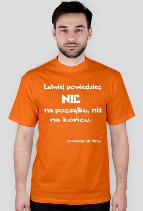 Koszulka - Leonardo da Vinci męska