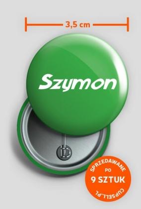 Przypinka Szymon