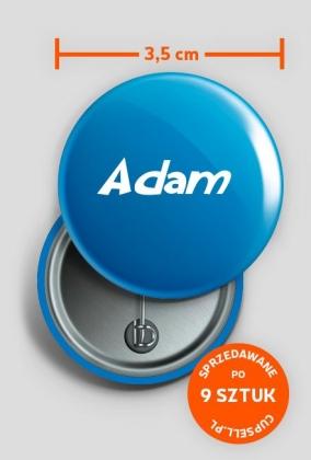 Przypinka Adam