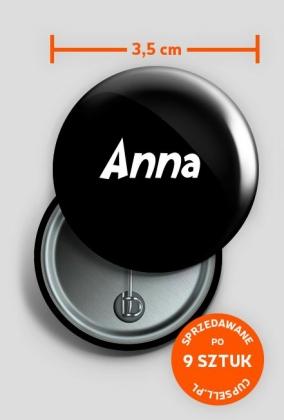 Przypinka Anna