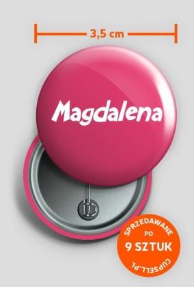 Przypinka Magdalena