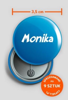 Przypinka Monika