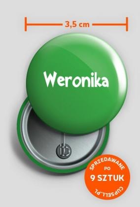 Przypinka Weronika
