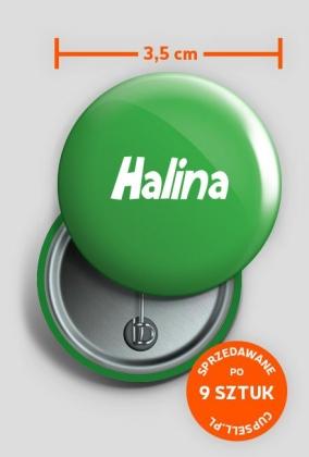 Przypinka Halina
