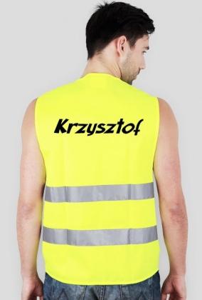 Kamizelka odblaskowa - Krzysztof