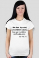 Koszulka - Albert Einstein damska