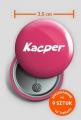 Przypinka Kacper