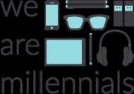 We are millennials - damska bluza