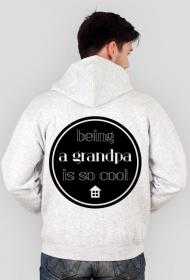Cool grandpa - bluza rozpinana