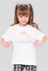 Housewife to be - dziewczęcy t-shirt