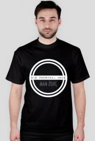 Nie podrywaj mnie - męski t-shirt