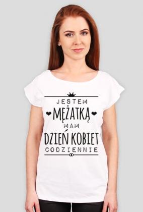 Dzień Kobiet mężatki - t-shirt oversize