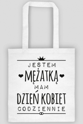 Dzień Kobiet mężatki - torba