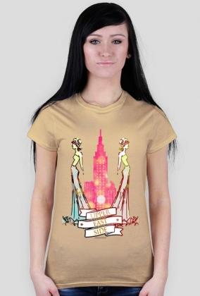 Upper East Side - damski t-shirt