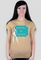 Panienka na wydaniu - damski t-shirt