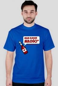 Koszulka - Mam eliksir miłości i nie zawaham się go użyć - śmieszne koszulki - chcetomiec.cupsell.pl