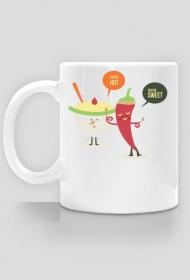 Gorący, słodki - Kubek - nietypowe i śmieszne kubki dla każdego