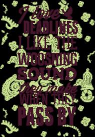 Kocham deadliny - Kubek - nietypowe i śmieszne kubki dla każdego