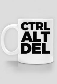 CTRL ALT DEL - Kubek - nietypowe i śmieszne kubki dla każdego