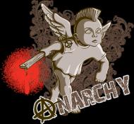 Koszulka - Anarchia - koszulki nietypowe, śmieszne - chcetomiec.cupsell.pl