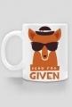 Zero fox Given - Kubek - nietypowe i śmieszne kubki dla każdego