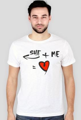 she + me