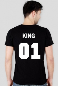 KING 01 koszulka Męska