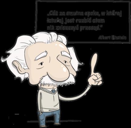 Koszulka dziecięca - Einstein z cytatem 00