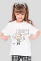 Koszulka dziewczęca - Einstein z cytatem 00