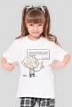 Koszulka dziewczęca - Einstein z cytatem 02