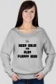 Keep calm and play flappy bird girl