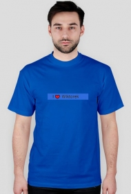 Koszulka I love Wiktorek