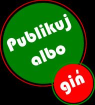 Koszulka damska Publikuj albo giń