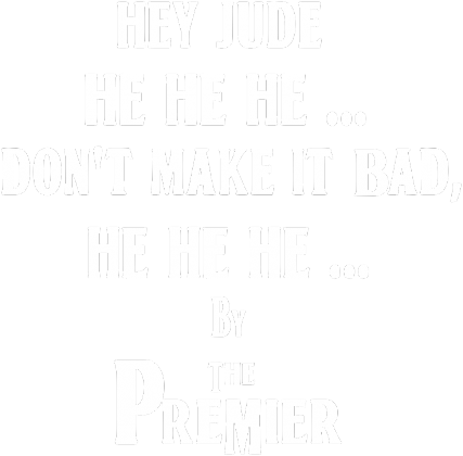 The Premier, The Beatles - Hey Jude - damska