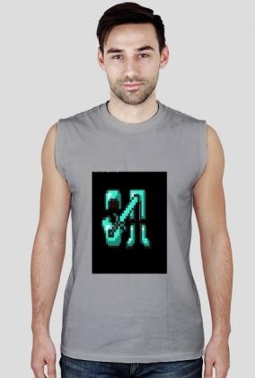 bluzka na lato Diaxowy armor - Męska