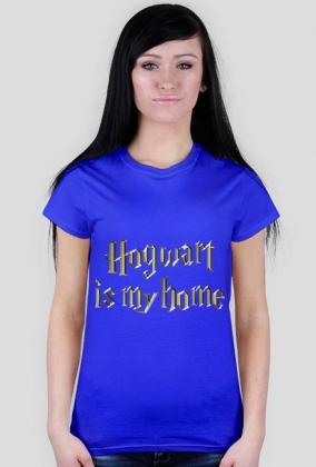 Koszulka Hogwart is my home Harry Potter # damska