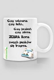 Kubek z bajką - ZEBRA
