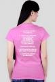 T-shirt dla kobiet z  oryginalnym nadrukiem